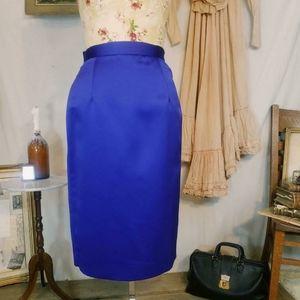 Vintage union made purple blue skirt!!